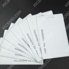 clamshell TK4100 proximity card