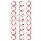 RFID prelam LF 3*8 PVC PET-G rfid inlay