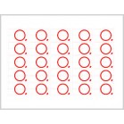 13.56MHZ or 125KHZ 5*5 rfid tag inlays